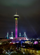 Tower Of The Americas Photos - Tower Of The Americas by Jocelyn McDaniel