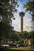 State Dinner Prints - Tower of the Americas Print by Ralph Brannan