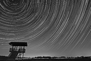 Startrails Prints - Tower of Time Print by Kevin Palmer