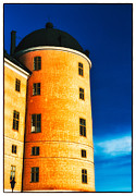 Tower Of Uppsala Castle - Sweden Print by David Hill