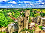 Warwick Framed Prints - Tower of Warwick Castle Framed Print by Jennifer Lones