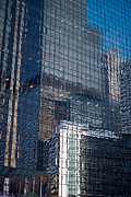 Willis Tower Framed Prints - Tower Reflections Framed Print by Steve Gadomski