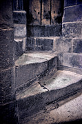 Stone Steps Prints - Tower Steps Print by Jill Battaglia