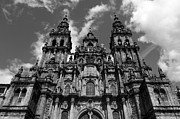 Galicia Photo Prints - Towers of Santiago de Compostela Print by James Brunker