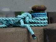 Ropes Prints - Towlines Print by Lutz Baar