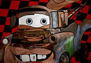 Big 3 Posters - Towmater Wall Mural Poster by Mark Moore