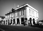 Outside Pictures Prints - Town Hall Monmouth Print by Andrew Read