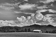Grey Clouds Photos - Townsend Barn by Jan Amiss Photography