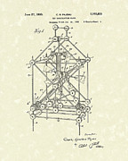 Toys Drawings - Toy Blocks 1933 Patent Art by Prior Art Design