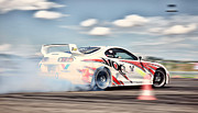 Jdm Photos - Toyota Drift  by Martin Slotta