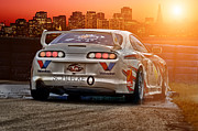 Jdm Photos - Toyota Supra - Sunset by Martin Slotta