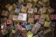 Lynn Palmer - Toys - Vintage Wooden Blocks