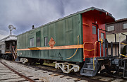 Brakeman Photos - TPW RR Caboose Side and Front Views by Thomas Woolworth