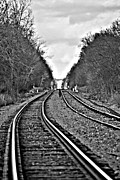 Train Tracks Photo Originals - Tracks by Tim Hauser