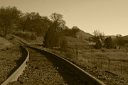 Harold Greer Metal Prints - Tracks to the Past Metal Print by Harold Greer