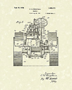 Farming Drawings - Tractor 1928 Patent Art by Prior Art Design