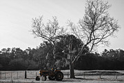 Tractor For Sale Print by Steven  Taylor