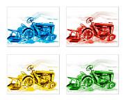 Tractor Mania  Print by Kip DeVore