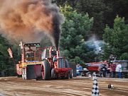 Metamora Art - Tractor Pull by Grace Grogan