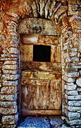 Architectur Metal Prints - Traditional Door 3 Metal Print by Emmanouil Klimis