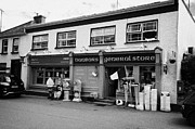 Republic Prints - Traditional Irish General Stores Selling Everything The Village Needs Including Post Office Courtown Print by Joe Fox
