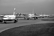 Airlines Photo Originals - Traffic Jam by Chris Smith