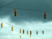 Traffic Lights Photos - Traffic Signals by Randall Weidner