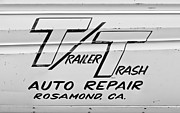 Auto Repair Posters - Trailer Trash Poster by Phil