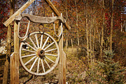 Wagonwheel Prints - Trails End Print by A New Focus Photography