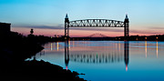 Adam Caron Metal Prints - Train Bridge Metal Print by Adam Caron