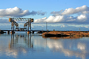 South Puget Sound Prints - Train Bridge Print by Chris Anderson