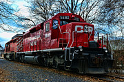 Iron Horse Art - Train - Canadian Pacific 5690 by Paul Ward