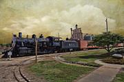 Train - Engine Print by Liane Wright