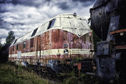 Not In Use Photo Metal Prints - Train Memories Metal Print by Mountain Dreams