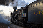 Boiler Photo Originals - Train Pere by Brian Lambert