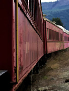 Ron Roberts Photography Greeting Cards Prints - Train Print by Ron Roberts
