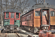 Trains Photos - Train Series 4 by David Bearden