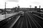 Medium Format Prints - Train Station Print by Alexander Mendoza