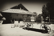 Movies Photo Originals - Train Station at Laws by Hugh Smith