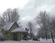 Gail Matthews - Train Station in Winter