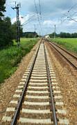 Gregory Dyer - Train to Prague - Train Tracks