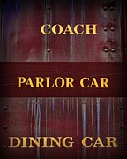 Parlor Posters - Train - Which Car Poster by Paul Ward