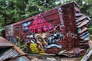 Adam Jewell - Train Wreck Near The Cheakamus River