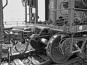 Caboose Prints - TRAIN YOKE and KNUCKLE COUPLING Print by Daniel Hagerman