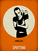 Famous Actors Posters Framed Prints - Trainspotting Poster Framed Print by Irina  March