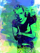 Trainspotting Watercolor 2 Print by Irina  March