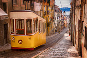 Tram Originals - Tram in Lisbon by Fetze Weerstra