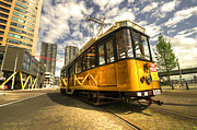 Tram Photos - Tram of Rotterdam by Rob Hawkins
