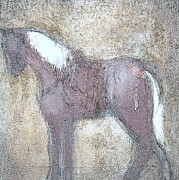Horse Drawing Mixed Media Prints - Trampled Under Foot 20 Print by Jane Biven