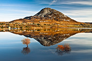 Derek Smyth Framed Prints - Tranquil Errigal - Ireland Framed Print by Derek Smyth